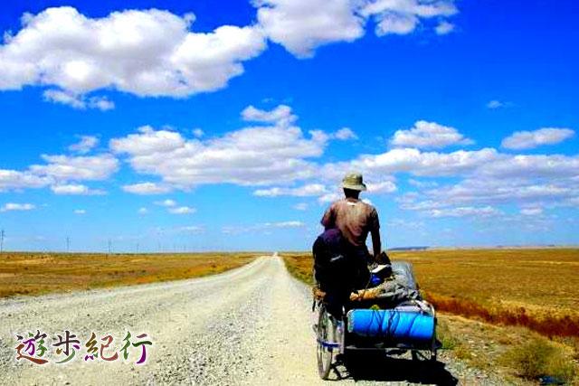 地球一周達成の鳥取出身の32歳、リヤカー道連れ4万キロ!