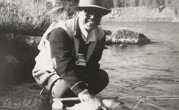 父が釣った川に立って。日本のアウトドア&フライフィッシングの父を持って・・・