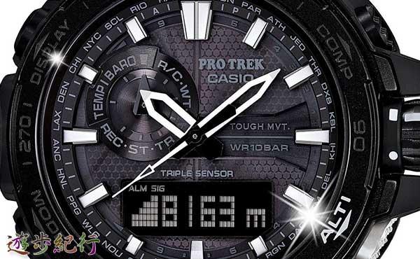 登山家・竹内洋岳の限定モデルの時計・新「PRO TREK」(CASHIO