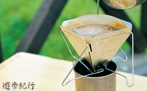 アウトドアで楽しむコーヒー