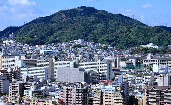 神戸市長田のパワースポット高取山