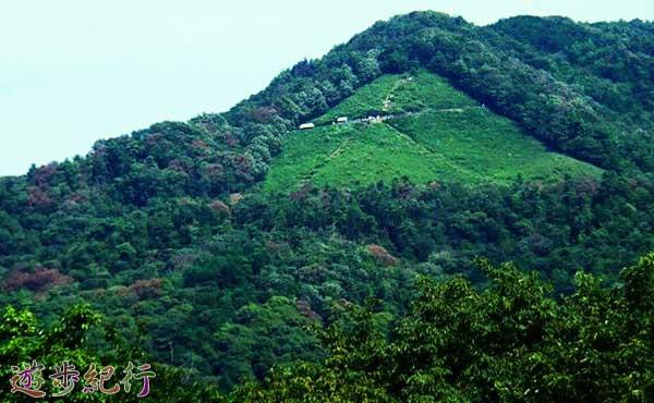 京都五山の送り火の一番人気、大文字山に登る