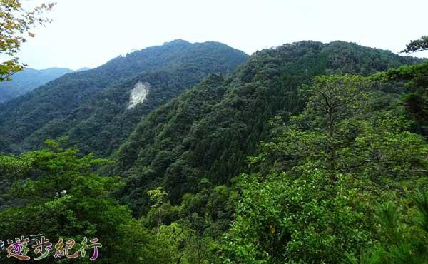 兵庫県六甲山系の有馬三山をめぐる裏六甲登山