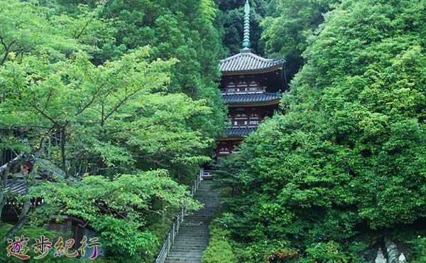 奈良県、矢田寺・松尾寺ハイキング
