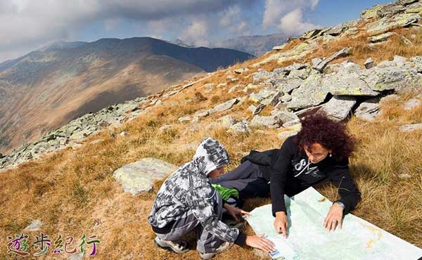 登山で本当に役に立つ情報は山中で集める