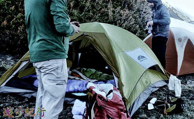テントのメンテ