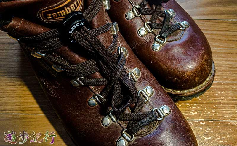 登山靴・ハイカットシューズは結ばない靴紐で行動が変わる~Lock Laces ロックレース